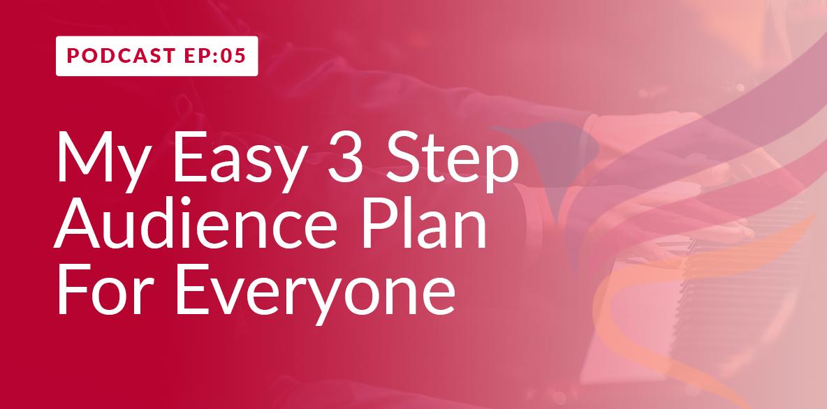 3 Step Audience Plan