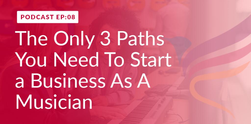 start a business as a musician